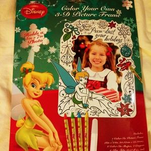 Pixie Dust Your Holidays Color Your Own Frame